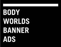 Body Worlds Banner Ads