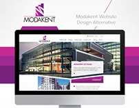 Modakent Website Design Alternative