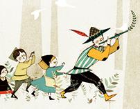 fairytale illust