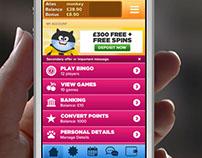 Mobile Bingo UI