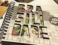 Agenda e Calendário Gráfica Ingral - Brasilidade