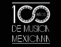 1OO Años de música mexicana