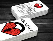 Lockhart Designs business card