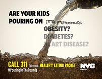 NYC Dept. of Health - Pouring on the Pounds