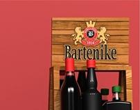 Expositor a linha de bebidas Bartenike.