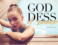 Editorial / Goddess Of Summer