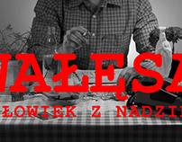 """Short Video/Title for Andrzej Wajda's movie """"Wałęsa. Cz"""