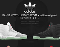 Kanye West x Jeremy Scott x adidas originals