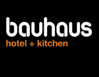 Bauhaus Hotel + Kitchen Corporate Identity