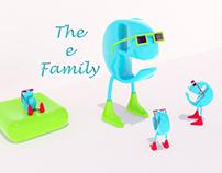 """The """"e"""" Family 3D"""