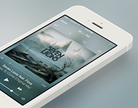 The Blur Music Player