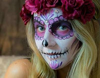 Day of the Dead / Dia de los Muertos face painting