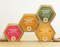 Natural BEESWAX Cream Packaging