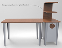 TURNING TABLE - Desk