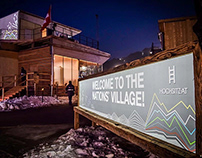 Nations' Village of WINTER OLYMPIC GAMES 2018
