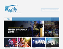 Music Dreamer - Web Design