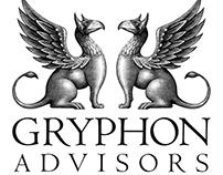 Gryphon Advisors Logo Mark Illustrated by Steven Noble