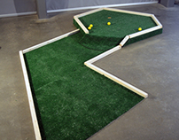 Mini Golf Installation