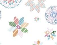 Kitchen Collection - digital floral set