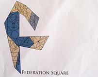 Federation Square Logo Rebrand