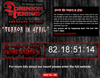 "Dominion of Terror ""Terror in April"" event"