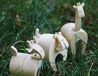 Animal Habitat Wooden Toys