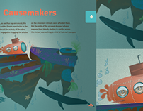 Causemaker UI Illustrations