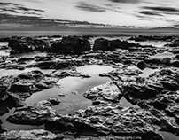 Black and White Seascapes - South Africa Part 2