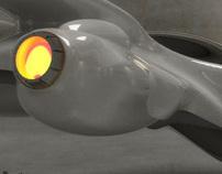 "3D spaceship ""Voyager"""
