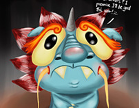 BrainFart: CNY Beast based on a CNY myth (Jan 2014)
