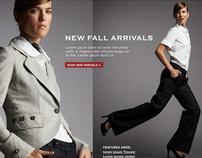 Levi's e-Commerce Web Site Design 2006-2008
