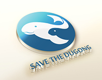 """Save the Dugong"" logo"