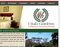 Website Development for Ufulu Gardens