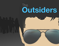 The Outsiders Puffin Book Cover Designs
