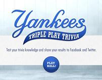 YES Network - Yankees Triple Play Trivia