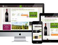 Drop Wines - Responsive Site