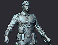 Characters for 3d-printing