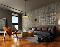 Living Room | Interior Rendering