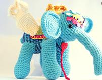 Amigurumi Winged Elephant