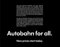 Volkswagen Autobahn for All