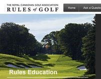 RCGA Rules Of Golf