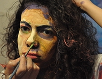 """interactive fake painting project """"1st session"""""""