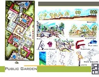 Public Garden -Landscape ||حديقة عامة -تنسيق مواقع