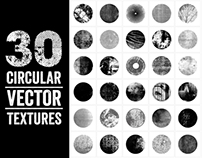 30 Circular Vector Textures