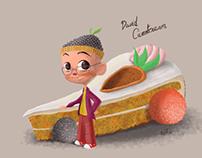 DAVID CARROTCREAM