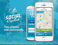 Social Cyclist - Mobile App - for Bicycle enthusiasts