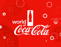 World of Coke - Interior Graphics Re-Brand