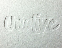 Experimental Letterpress