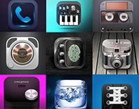 iOS App Icons - 56 Creative Concepts