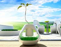Plant Pot - Vase - Lamp